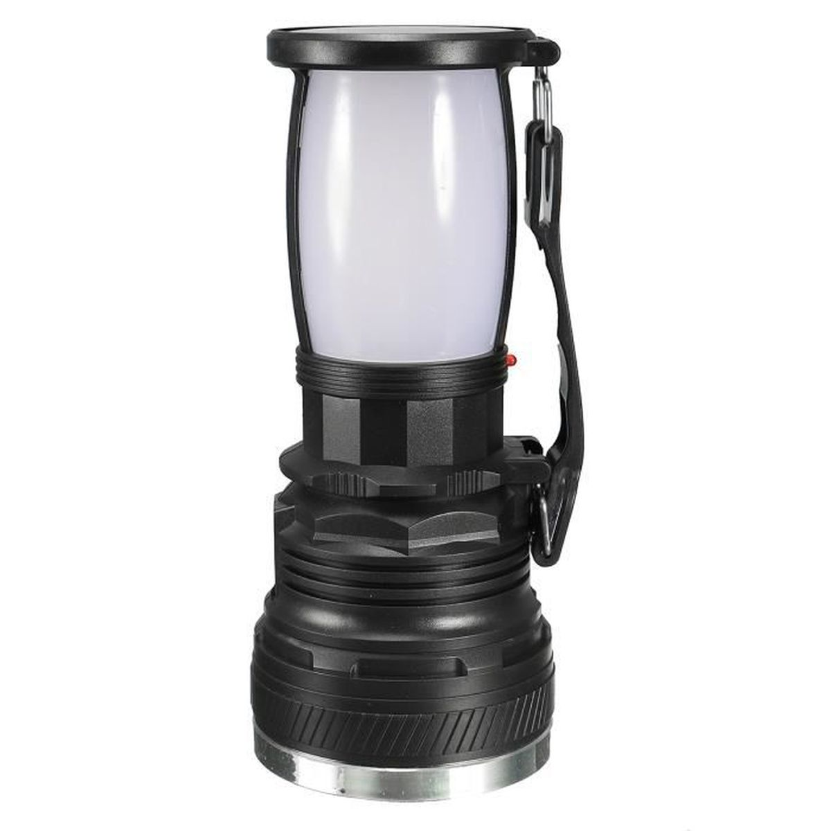 Led lampe rechargeable solaire lanterne torche poche camping p che tente achat vente lampe - Lampe camping rechargeable ...
