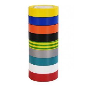 VOLTMAN Lot de 9 rubans adhésifs isolants - Longueur : 10 m?tres