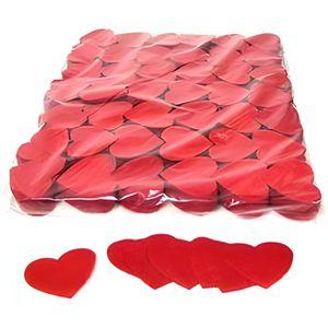 CONFETTIS 100 gr confettis papier cœur rouge 5 cm