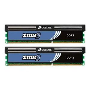 MÉMOIRE RAM Corsair XMS3 - Mémoire - 4 Go : 2 x 2 Go - DIMM 2…