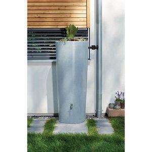 COLLECTEUR EAU - CUVE  Récupérateur d'eau et bac à plantes Stone 350 L...