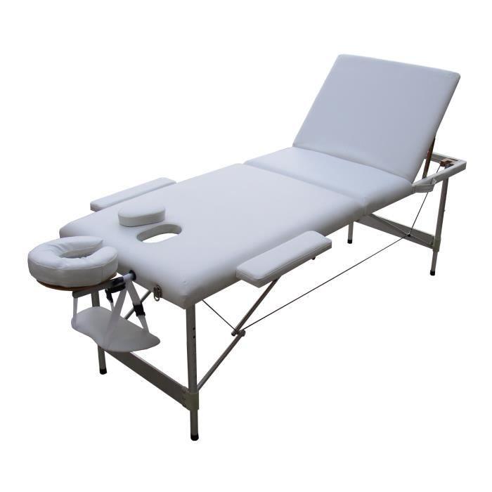 table de massage pliante alu achat vente table de. Black Bedroom Furniture Sets. Home Design Ideas
