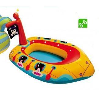 Jeux d 39 eau bateau gonflable mod le pirate bateau gonflable pour enfan - Bateau gonflable enfant ...