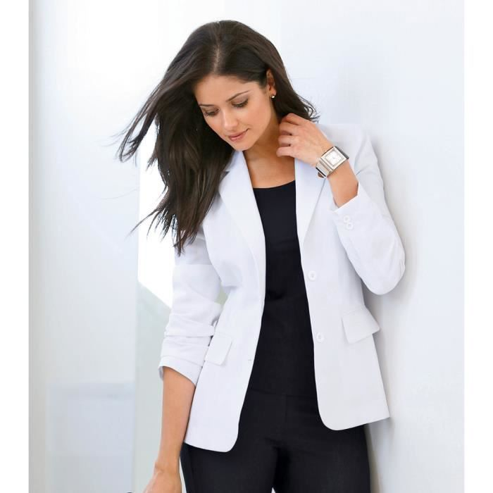 veste tailleur manches longues femme venca achat vente veste cdiscount. Black Bedroom Furniture Sets. Home Design Ideas