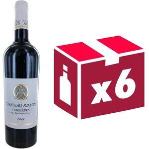 VIN ROUGE Château Avalon Corbières 2015 - Vin rouge