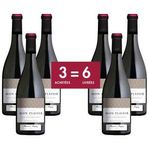 VIN ROUGE Mon Plaisir Minervois 2015 - Vin rouge
