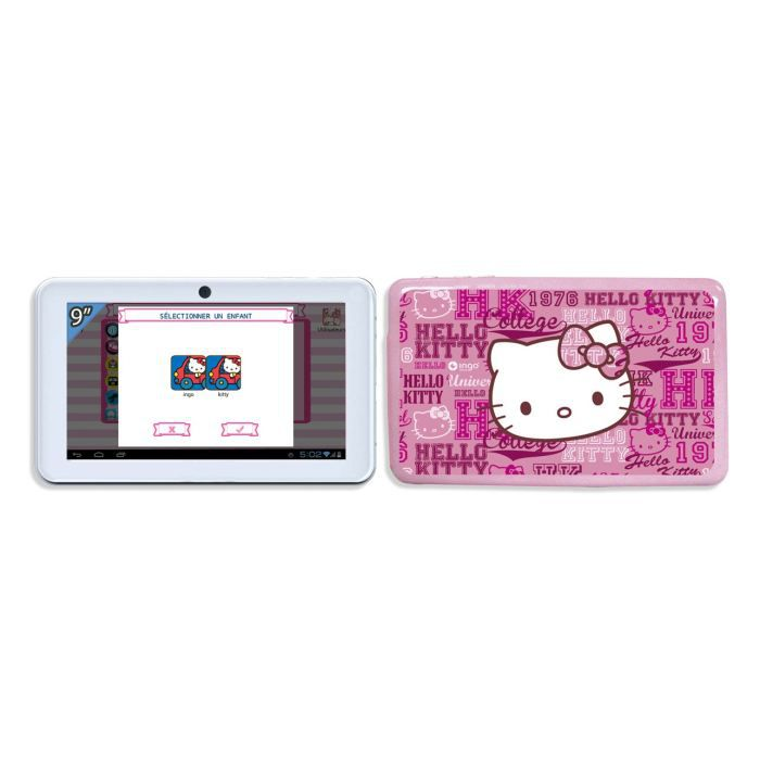 juniors console multimedia tablette tactile hello kitty premium  f ingheud