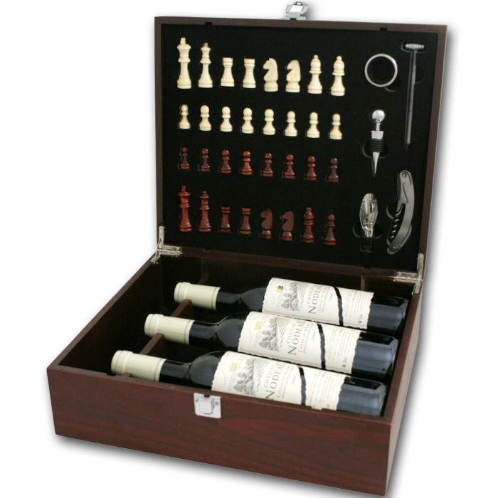 coffret echecs vin et accessoires de service achat vente coffret cadeau vin coffret echecs. Black Bedroom Furniture Sets. Home Design Ideas