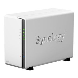 """Synology serveur NAS 2 baies DS215j + 2 disques durs WD Red 2To 64Mo 3.5"""""""