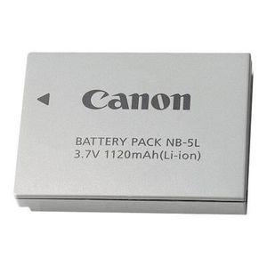BATTERIE APPAREIL PHOTO CANON - NB 5L - Pile pour appareil photo Li-Ion