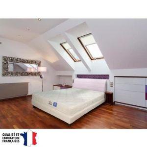 ensemble matelas sommier et tete de lit 160 200 achat vente ensemble matelas sommier et tete. Black Bedroom Furniture Sets. Home Design Ideas