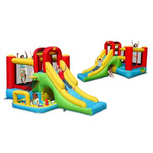 Aire de jeux enfant achat vente pas cher les soldes - Chateau gonflable pas cher ...