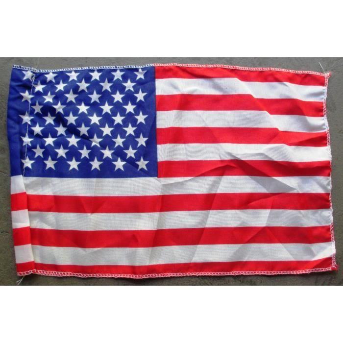 Lot de 10 drapeau usa de 30x20cm flag americain d co pub for Deco murale usa