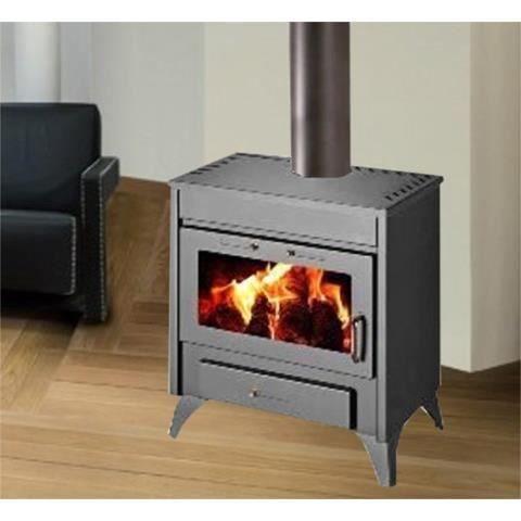 poele bois bouilleur achat vente po le insert foyer poele bois bouilleur soldes d. Black Bedroom Furniture Sets. Home Design Ideas
