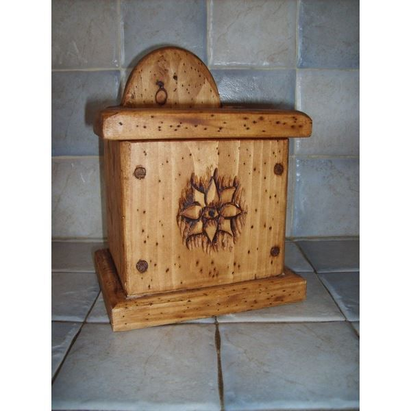 boite a sel bois deco chalet montagne achat vente pot pices boite a sel bois deco chale. Black Bedroom Furniture Sets. Home Design Ideas