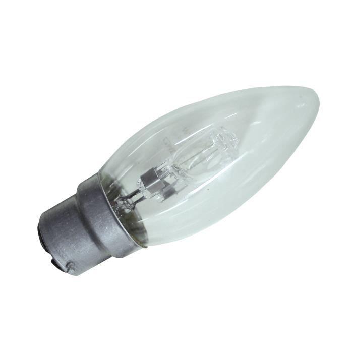 ampoule halog ne 42w flamme b22 achat vente ampoule led verre cdiscount. Black Bedroom Furniture Sets. Home Design Ideas