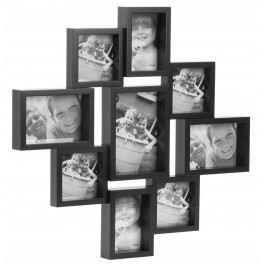 cadre city multiple x9 noir achat vente cadre photo. Black Bedroom Furniture Sets. Home Design Ideas