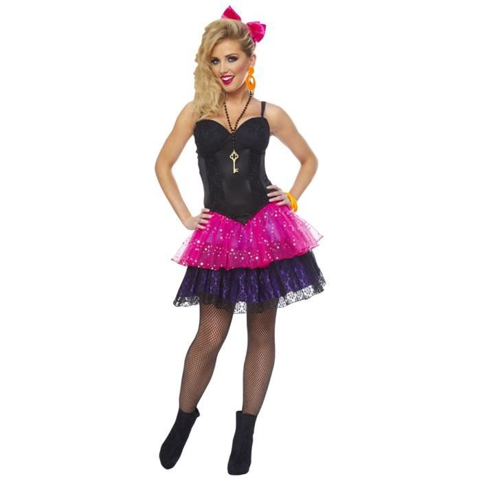 Corset noir ann es 80 achat vente deguisement sexy corset noir ann es 80 cdiscount - Deguisement sportif annee 80 ...