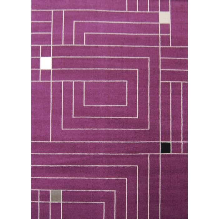 Paradise tapis de salon violet beige 160x230 cm achat - Salon violet et beige ...