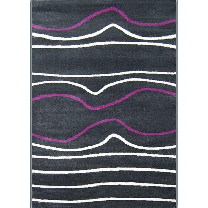 Purple Tapis De Salon 120x160 Cm Achat Vente Tapis 103 Polypropyl Ne Heat Set Cadeaux De