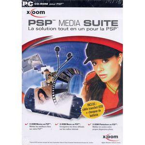 JEU PC PSP MEDIA SUITE / PC CD-ROM