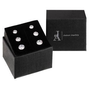 Boucle d'oreille AMBROSI JEWELLERY Set de 3 Paires de Boucles d'Ore