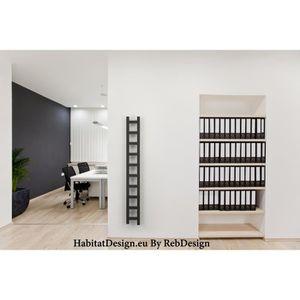 seche serviette etroit achat vente seche serviette etroit pas cher cdiscount. Black Bedroom Furniture Sets. Home Design Ideas