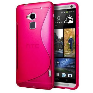 Coque TPU  type S pour HTC One Max Rose