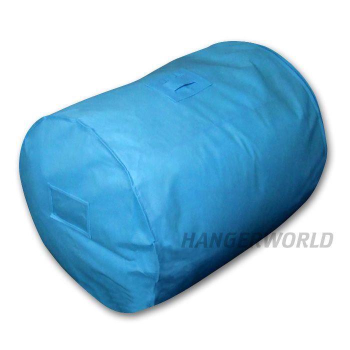 sac bleu pour linge de lit housse couette et oreiller achat vente housse de rangement sac. Black Bedroom Furniture Sets. Home Design Ideas
