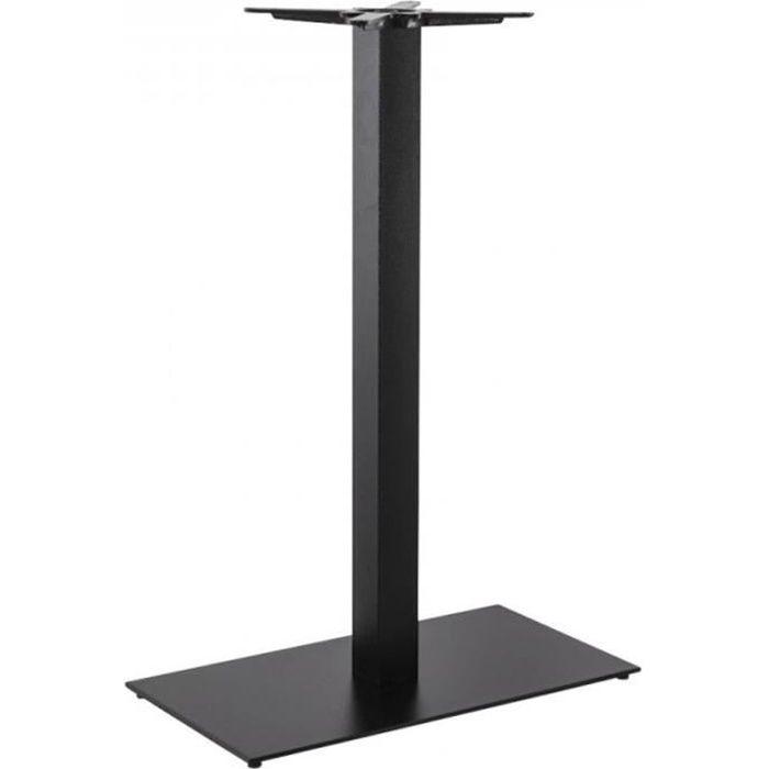 Paris prix pied de table xl m tal 110 cm noir achat vente p - Pied de table 110 cm ...