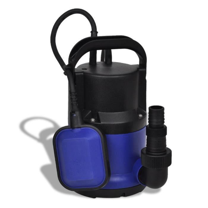 Vidaxl Pompe Submersible Pour Eaux Us Es Jardin 250 W