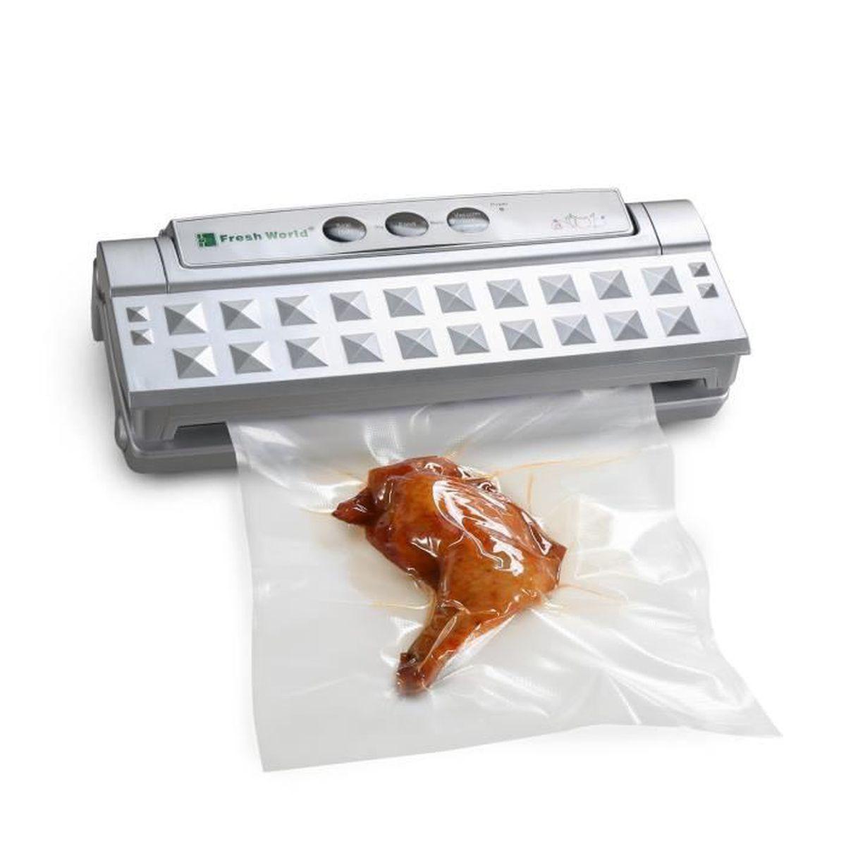 Mixmart appareil de mise sous vide automatique avec un for Appareil cuisine conviviale