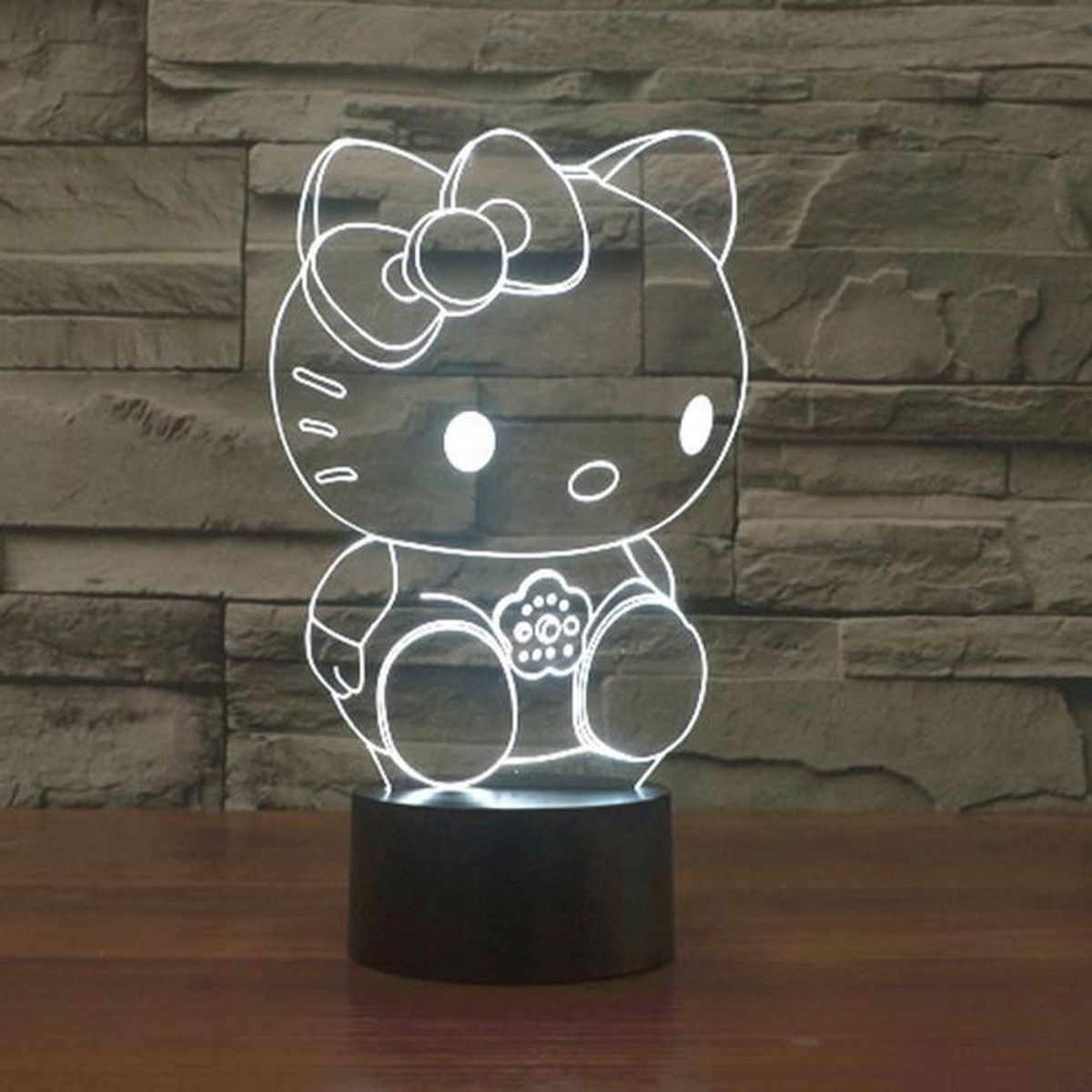 lampe a poser lampe 3d hello kitty lampe a poser sur table 3d l - Lustre Hello Kitty Chambre