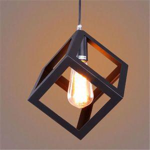 LUSTRE ET SUSPENSION Suspension Luminaire Design Cube Métal ᴓ16cm Indus