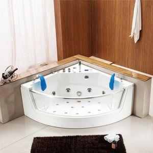 baignoire balneo d angle achat vente baignoire balneo. Black Bedroom Furniture Sets. Home Design Ideas
