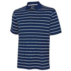 MAILLOT - POLO DE SPORT Adidas Golf - Polo rayé à manches courtes - Hom...