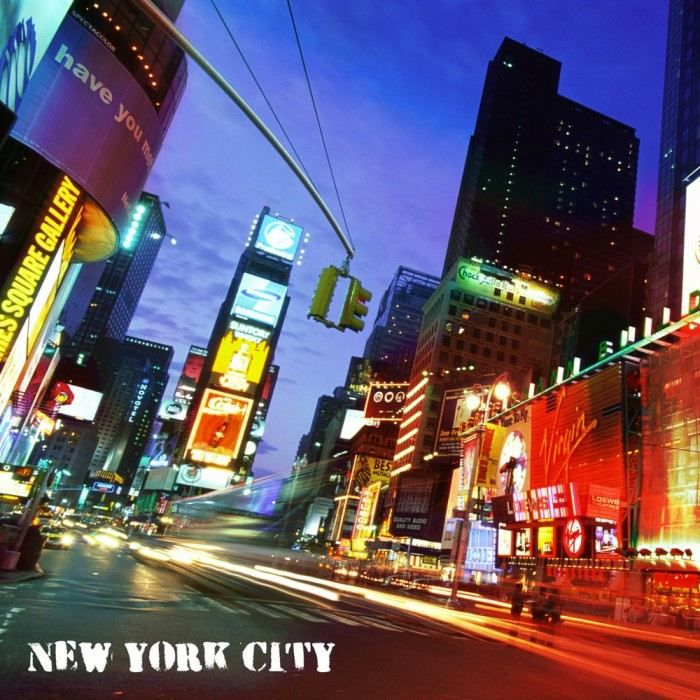 Tableau toile laqu e colors in new york couleur achat vente tableau to - Achat maison new york ...