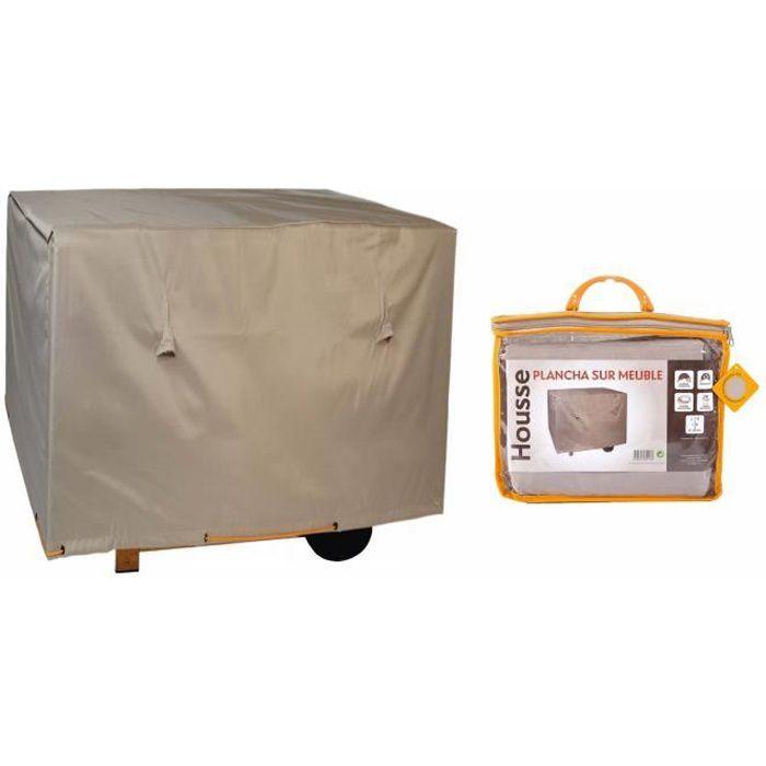 housse de protection pour plancha sur meuble 110 x 70 cm. Black Bedroom Furniture Sets. Home Design Ideas