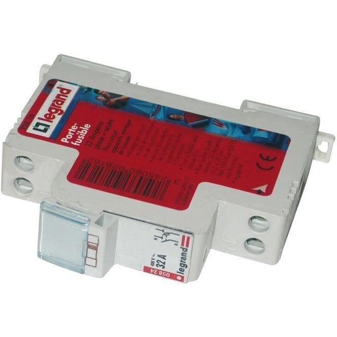 Legrand porte fusible modulaire 1 phase neutre pour cartouches 32a achat vente porte - Le sectionneur porte fusible ...