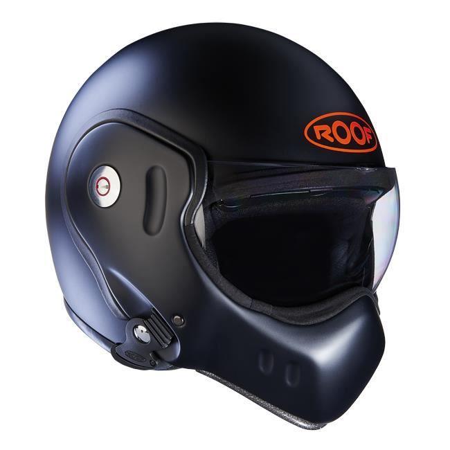 casque roof boxer classic s rie limit e noir mat achat vente casque moto scooter casque roof. Black Bedroom Furniture Sets. Home Design Ideas