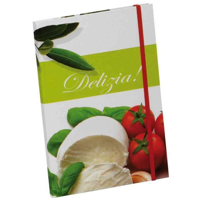Carnet de recettes de cuisine olive tomate a5 achat for Fourniture de cuisine