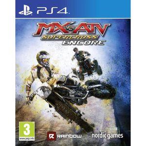 JEU PS4 MX vs ATV SuperCross Encore Edition Jeu PS4