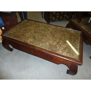 tables basses opium achat vente tables basses opium pas cher cdiscount. Black Bedroom Furniture Sets. Home Design Ideas