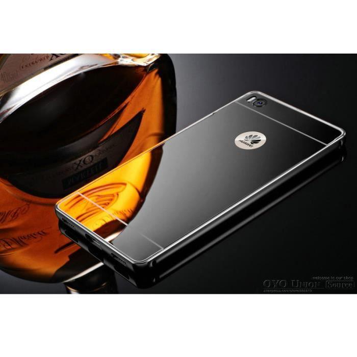 Huawei p8 lite noir test wroc awski informator for Miroir noir watch online