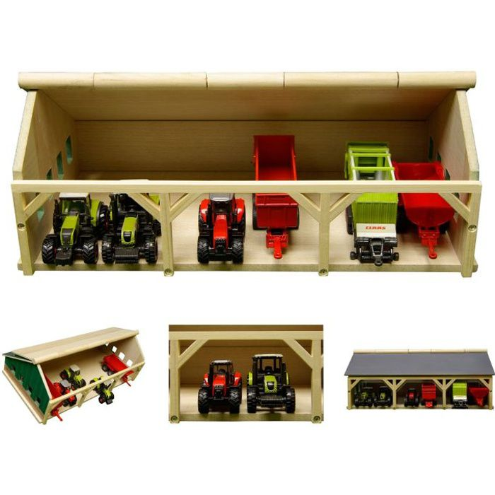 hangar en bois achat vente jeux et jouets pas chers. Black Bedroom Furniture Sets. Home Design Ideas