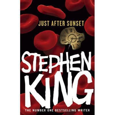 Just after Sunset by Stephen King (2008, Hardcover) HC/DJ COLLECTOR SET WITH DVD
