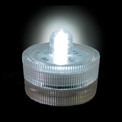 Lampion submersible led de couleur blanc achat vente for Lampion led exterieur
