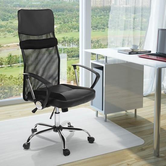 chaise fauteuil de bureau ergonomique pivotant hauteur. Black Bedroom Furniture Sets. Home Design Ideas