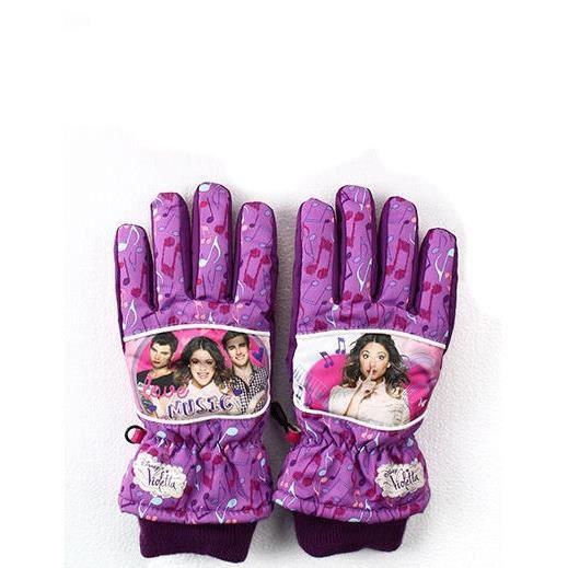 Gants de ski fille violetta violet 7 12 ans violet - Jeux de fille de violetta ...