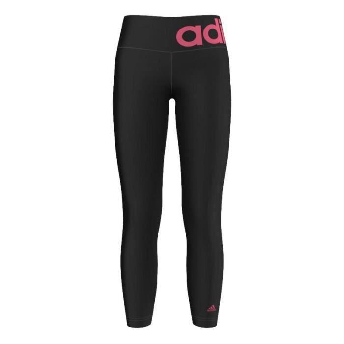 legging de sport adidas noir achat vente pantalon de sport cdiscount. Black Bedroom Furniture Sets. Home Design Ideas